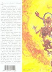 Griots Celestes 2 Le Dragon Aux Plumes De Sang - 4ème de couverture - Format classique