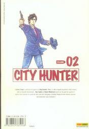 City hunter t.2 - 4ème de couverture - Format classique
