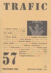 Revue Trafic T.57 - Intérieur - Format classique