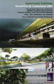 Jean-louis subileau, grand prix de l'urbanisme 2001 - Intérieur - Format classique