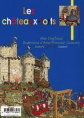 Les châteaux-forts - 4ème de couverture - Format classique