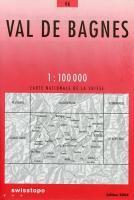 Val De Bagnes - Couverture - Format classique