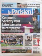 Parisien 75 (Le) du 11/03/2012 - Couverture - Format classique