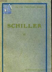 Schiller Ii - Couverture - Format classique