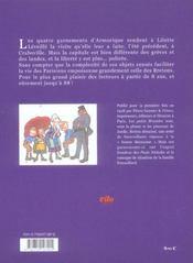 Les petits brazidec a paris - 4ème de couverture - Format classique