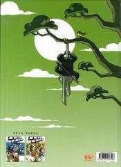 Zblucops t.3 ; samuraï et fines herbes - 4ème de couverture - Format classique