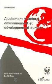 Ajustement structurel, environnement et développement durable - Intérieur - Format classique