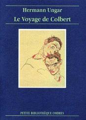 Le voyage de Colbert - Couverture - Format classique