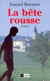 La Bete Rousse - Couverture - Format classique