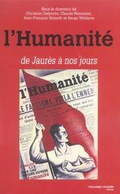 L'humanite de jaures a nos jours - Intérieur - Format classique