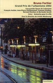 Bruno fortier, grand prix de l'urbanisme 2002 - Intérieur - Format classique