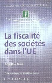 La fiscalité des sociétés dans l'union européenne - Couverture - Format classique