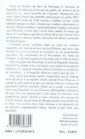 Les jardins de bagatelle à paris - 4ème de couverture - Format classique