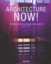 Va-Architecture Now - Couverture - Format classique
