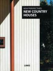 New country houses - Couverture - Format classique