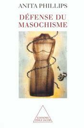 Défense du masochisme - Intérieur - Format classique
