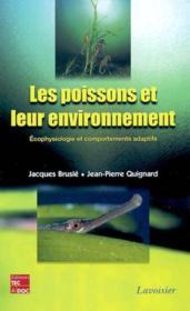 Les Poissons Et Leur Environnement Ecophysiologie Et Comportements Adaptatifs - Couverture - Format classique