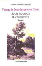 Voyage de Jean-Jacques en Corse - Couverture - Format classique