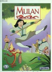 Walt disney classiques du dessin anime ; mulan - Couverture - Format classique