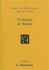 Professeur De Beaute - Couverture - Format classique