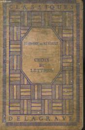Choix De Lettres - Couverture - Format classique