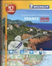 Vente livre :  France (édition 2016)  - Collectif Michelin