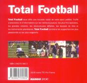 Total football - 4ème de couverture - Format classique