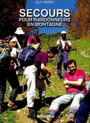Secours Pour Randonneurs En Montagne - Couverture - Format classique