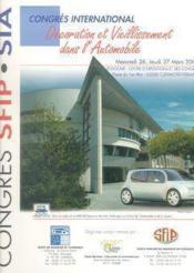 Decoration et vieillissement dans l'automobile ; congres international 26-27 mars 2003, clermont-ferrand - Couverture - Format classique