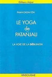 Yoga De Patanjali - Couverture - Format classique