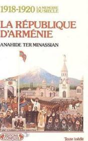 Republique d'armenie - Couverture - Format classique
