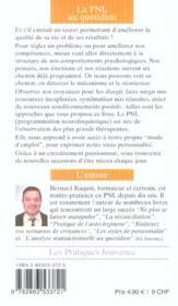 Pnl Au Quotidien (La) N.93 - 4ème de couverture - Format classique