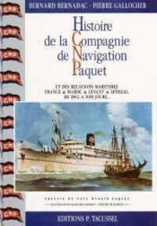 Histoire De La Compagnie De Navigation Paquet - Couverture - Format classique
