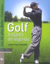 Golf, instants de legende - Intérieur - Format classique