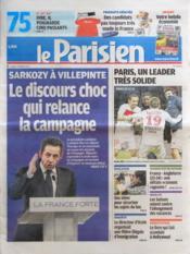 Parisien 75 (Le) N°20993 du 12/03/2012 - Couverture - Format classique