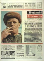Humanite Dimanche (L') N°846 du 08/11/1964 - Couverture - Format classique