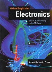 Vente  Oxford english for electronics eleve  - Glendinning