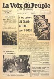Voix Du Peuple De Touraine (La) N°1297 du 05/06/1966 - Couverture - Format classique