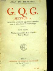G.Q.G Secteur 1 Tome Second - Couverture - Format classique