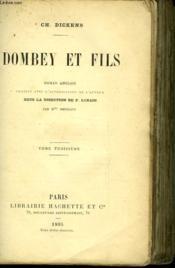 Dombey Et Fils - Tome Troisieme - Couverture - Format classique