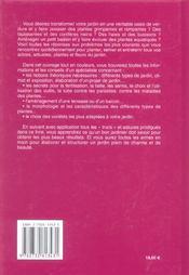 Quel Beau Jardin ! - 4ème de couverture - Format classique