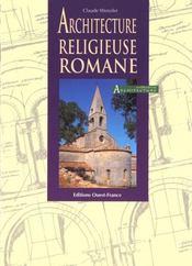 Architecture Religieuse Romane - Intérieur - Format classique