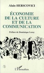 Economie De La Culture Et De La Communication - Intérieur - Format classique
