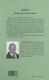 Amélie t.1 ; chronique d'un mineur de potasse - 4ème de couverture - Format classique