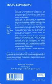 Molto espressivo - 4ème de couverture - Format classique
