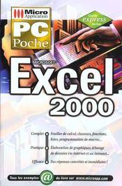 Pc Poche Excel 2000 - Intérieur - Format classique
