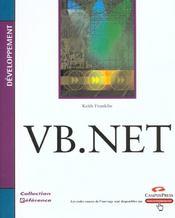 Cp Reference Developpement Vb.Net - Intérieur - Format classique