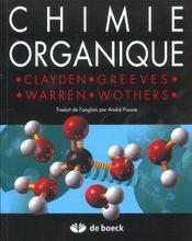 Chimie Organique - Intérieur - Format classique