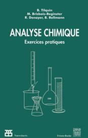Analyse Chimique - Couverture - Format classique