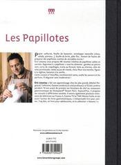 Les papillotes - 4ème de couverture - Format classique
